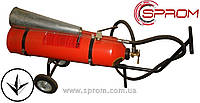 Огнетушитель углекислотный передвижной ВВК-18