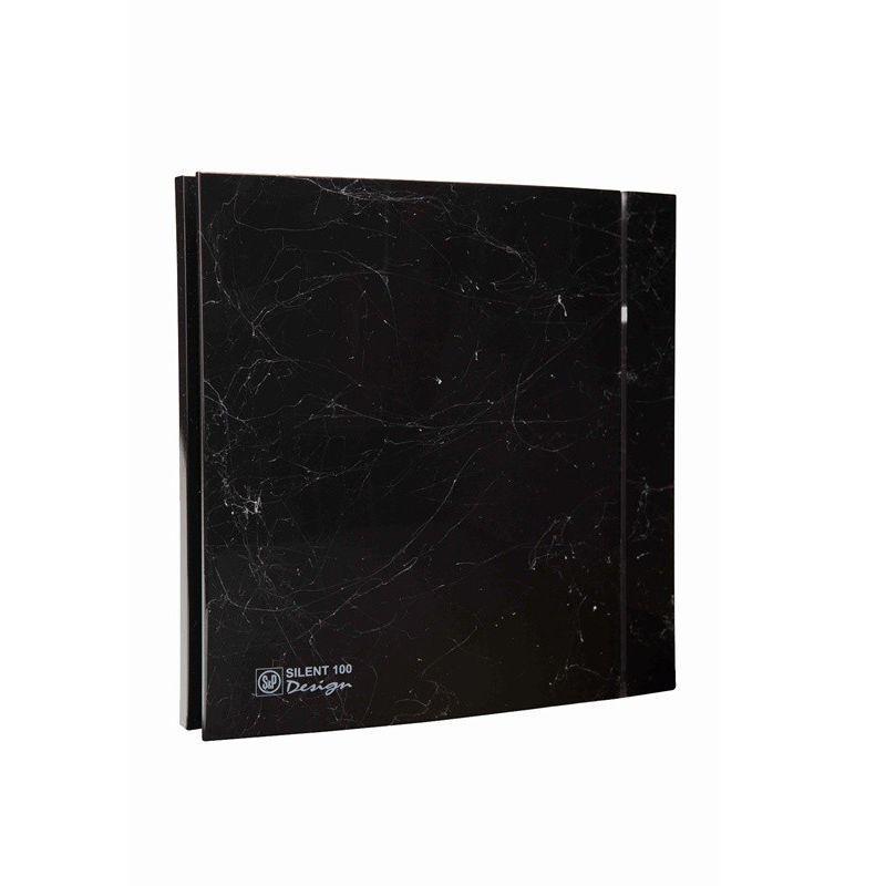 ВЕНТИЛЯТОР Soler & Palau SILENT-200 CZ MARBLE BLACK DESIGN - 4C (230V 50)