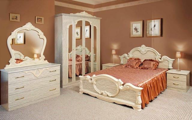 Спальня СМ Империя (перламутр)