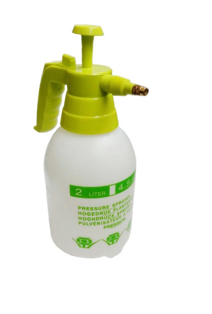 🔝 Ручной распылитель, помповый, для химикатов, Pressure Sprayer, на 2 литра | 🎁%🚚