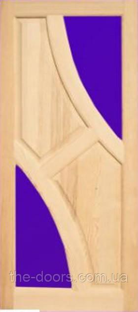 Двери модель М14 из массива сосны