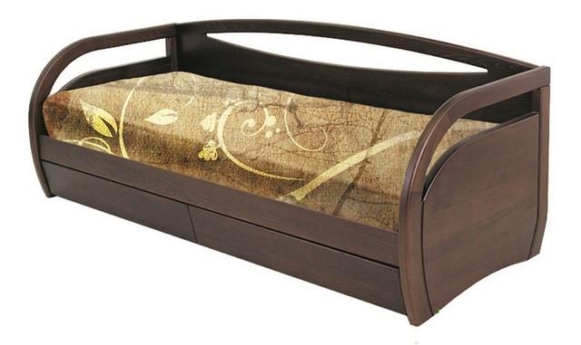 Дерев'яне ліжко тахта Баварія