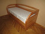 Дерев'яне ліжко тахта Баварія, фото 2