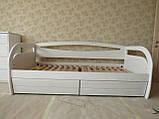 Дерев'яне ліжко тахта Баварія, фото 3