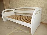 Дерев'яне ліжко тахта Баварія, фото 7
