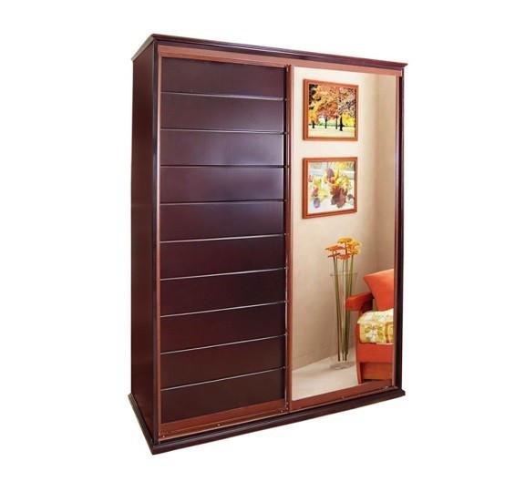 Деревянный шкаф купе Милена