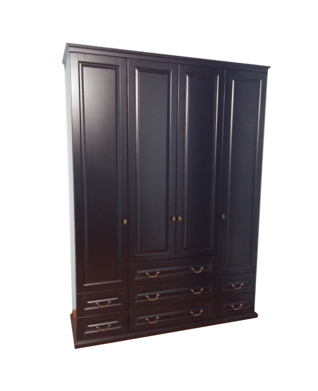 Деревянный шкаф Милена 4Д с ящиками