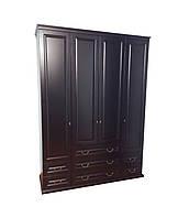 Деревянный шкаф Милена 4Д с ящиками, фото 1
