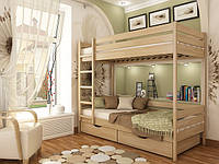 Деревянная кровать Дуэт