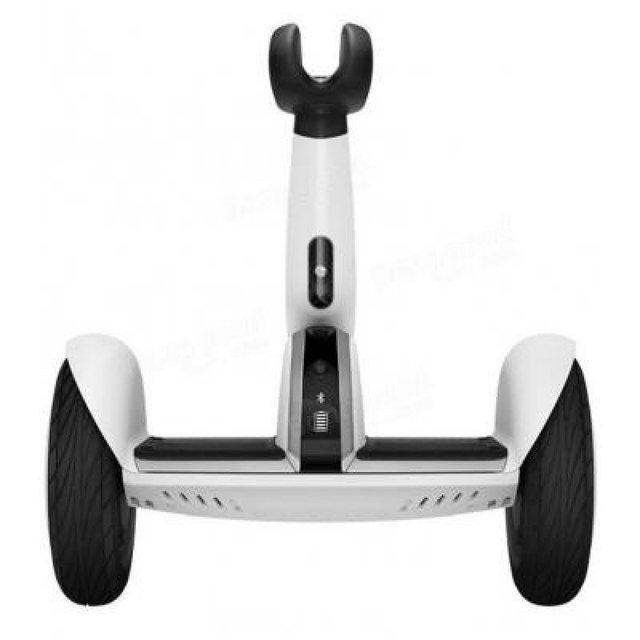 "Мини сигвей, гироскутер Mi Ninebot Plus колеса 11"" White скорость 20км/ч, Батарея Samsung 4400 mAh"