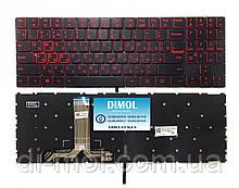 Оригинальная клавиатура для ноутбука Lenovo Legion Y520-15IKB, Y720-15IKB series, rus, black, подсветка