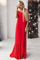 Длинное летнее платье Скарлетт