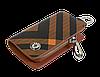 Ключница Carss с логотипом SKODA 22014 карбон коричневый, фото 3