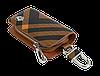 Ключница Carss с логотипом SKODA 22014 карбон коричневый, фото 4