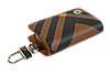 Ключница Carss с логотипом SKODA 22014 карбон коричневый, фото 5