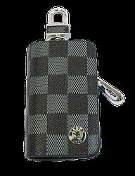 Ключница Carss с логотипом SKODA 22013 карбон серый