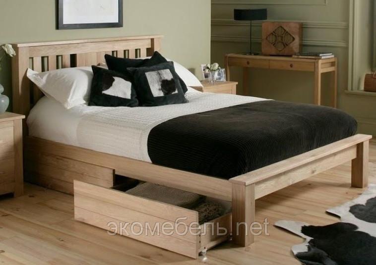 Деревянная кровать Адель