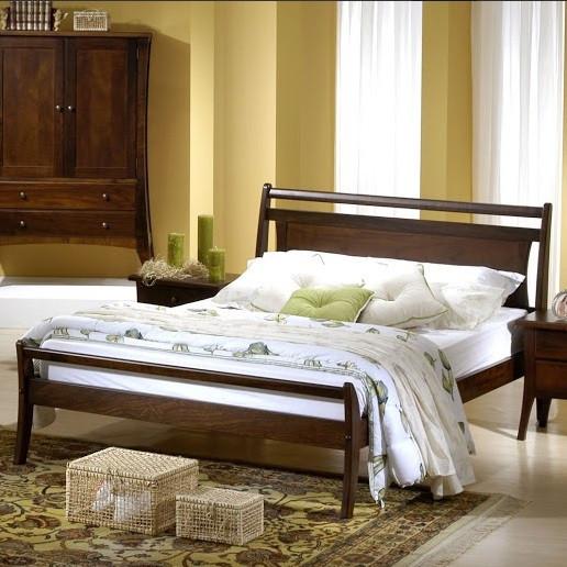 Деревянная кровать Копенгаген