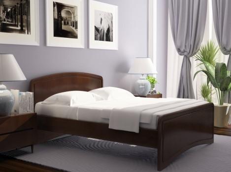 Дерев'яне ліжко Онега