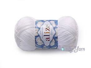 Alize Miss Белый, №055