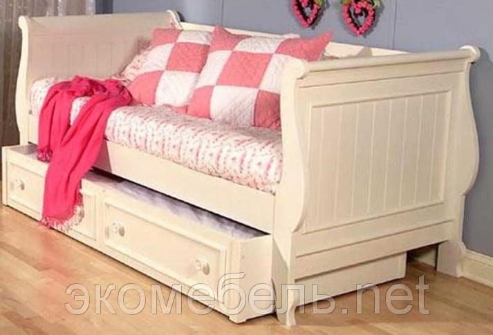 Деревянная кровать Ларедо