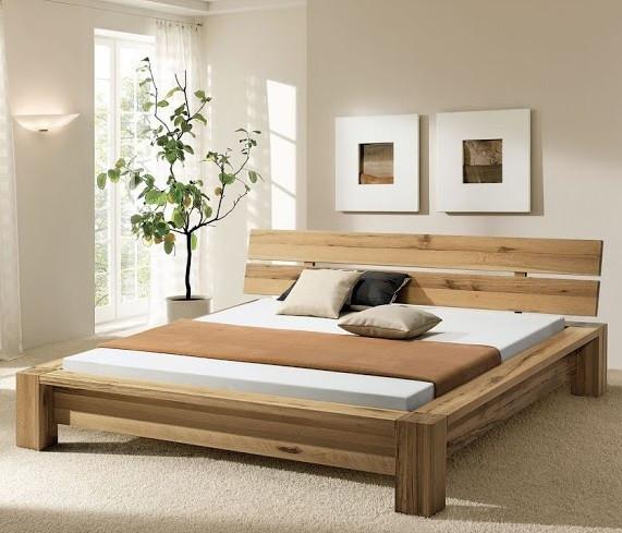 Дерев'яне ліжко Хакуба