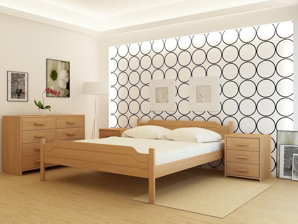 Деревянная кровать Флоренция-2
