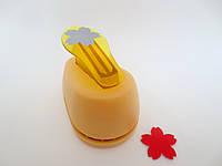 Фигурный дырокол, 2,5 см, JEF, цветок-пятилистник, фото 1