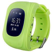 ✸Смарт-часы UWatch Q50 Зеленые детские GPS SIM Определение местоположения Кнопка SOS Скрытый мониторинг