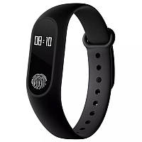 ➣Фитнес трекер UWatch М2 Black спортивные часы для занятий спортом sport watch на застежке smart для андроида