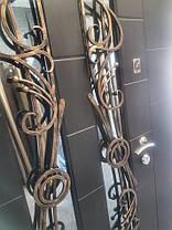 Входная дверь двух створчатая модель П5-500  vinorit-20 / 05 КОВКИ, фото 3
