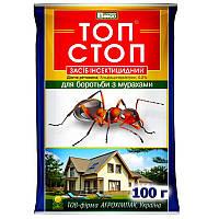 Инсектицидные гранулы-кристалы от муравьев Топ Стоп, Агрохимпак, 100 г