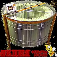 Медогонка радиальная на 75 рамок Мр-75н, нержавеющая сталь