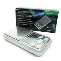 ТОП ВИБІР! Кишенькові ваги Pocket scale MH 500, Ваги електронні ювелірні POCKET SCALE MH 500, 1000353