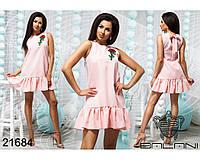 Пышное короткое платье - 21684