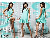 Пышное короткое платье - 21685