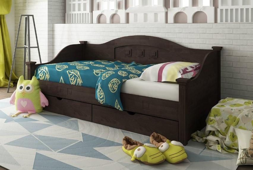 Деревянная кровать тахта Греция, фото 1