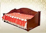 Дерев'яне ліжко тахта Греція, фото 2