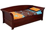 Дерев'яне ліжко Аріадна з ящиками, фото 3