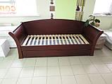 Дерев'яне ліжко Аріадна з ящиками, фото 5