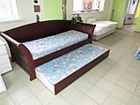 Дерев'яне ліжко Аріадна з ящиками, фото 7