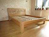 Деревянная кровать Италия, фото 2