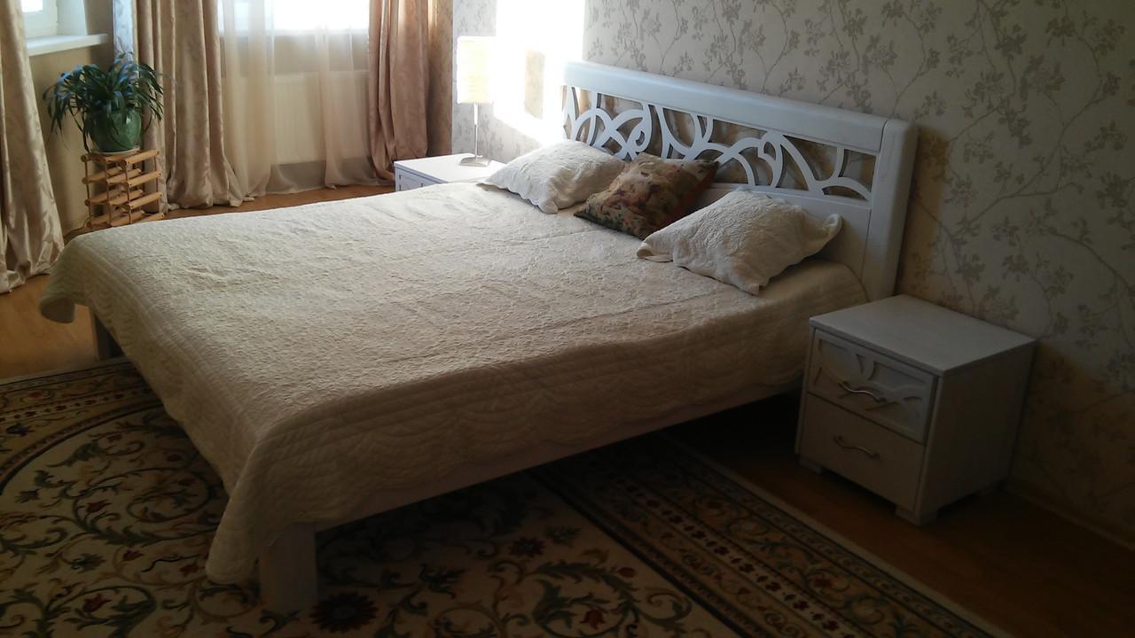 Деревянная кровать Италия