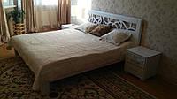 Деревянная кровать Италия, фото 1