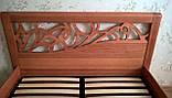 Деревянная кровать Италия, фото 3