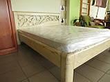 Деревянная кровать Италия, фото 4