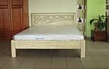 Деревянная кровать Италия, фото 6