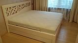 Деревянная кровать Италия, фото 7