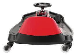 Электромобиль дрифт-карт детский Razor Crazy Cart Shift скорость 13км/ч черно-красный цвет