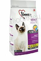 Сухой корм для привередливых и активных котов, 1st Choice Finicky, 0.35 кг.